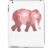 Red Spiral Elephant iPad Case/Skin