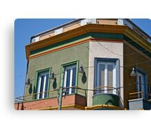 Argentinian balcony  Canvas Print