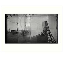 Industrial Decay Art Print