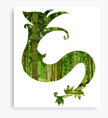 Serperior used synthesis Canvas Print