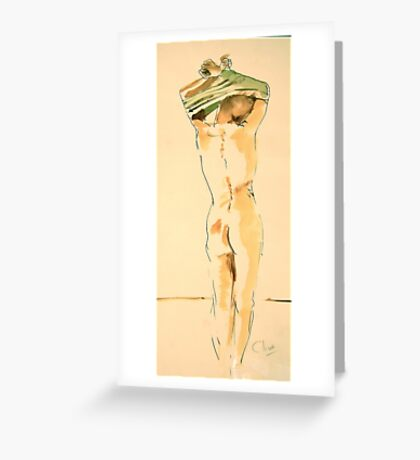 dressing Greeting Card