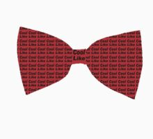 I wear bow ties now by Rachel Miller