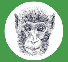 Monkey (Date Due stamps) Kids Clothes