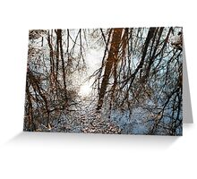 pool of reflection  Greeting Card