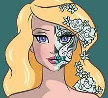 Sugar Skull Series: Lady Swan by Ellador
