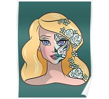 Sugar Skull Series: Lady Swan Poster