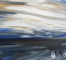Winter Night Sky #2, 2011 by Jacqueline Crawley