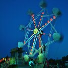 Ferris Wheel - Lindfield Fun Fair #6 by Matthew Floyd