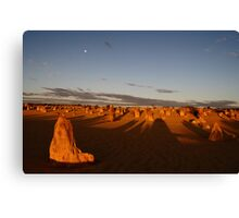 Dusk at the Pinnacles Canvas Print
