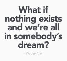 Woody Allen  by Murray Swift
