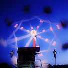 Ferris Wheel - Lindfield Fun Fair #11 by Matthew Floyd