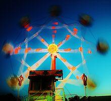 Ferris Wheel - Lindfield Fun Fair #12 by Matthew Floyd