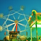 Ferris Wheel - Lindfield Fun Fair #13 by Matthew Floyd