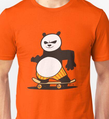 Skate Fu Panda Unisex T-Shirt