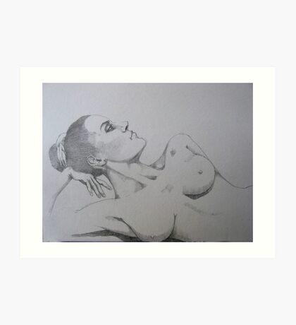 Sketch for Dorethea Art Print