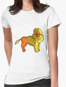 poodle2 Womens Fitted T-Shirt