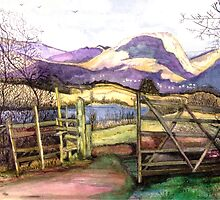 Blelham Tarn the Lake District by doatley