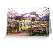 Blelham Tarn the Lake District Greeting Card