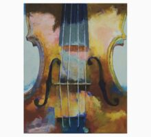 Violin Painting Kids Clothes