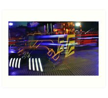 Painting With Lights #9 Art Print