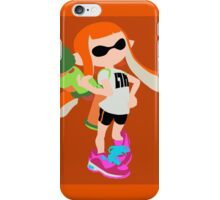 Inkling Girl (Orange) - Splatoon iPhone Case/Skin