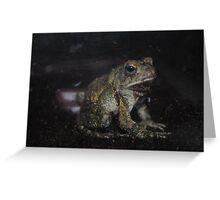 Fowler's Toad II Greeting Card