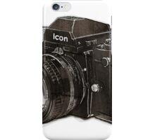 Analog 35mm Nikon F3 single reflex camera iPhone Case/Skin