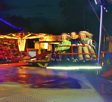 One More Time Around - Lindfield Fun Fair by Matthew Floyd