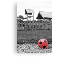 Ball Play Canvas Print