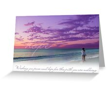 Wishing You Peace and Hope (Infertility) Greeting Card