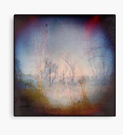 Trees of Metal Canvas Print
