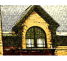 The Old Depot Windows Photographic Print