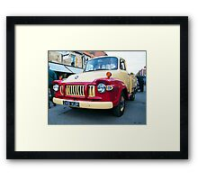 In The 60's 12 Framed Print