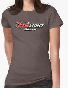 Cool Light Saber Womens Fitted T-Shirt