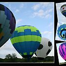 Balloon Collage! by Linda Jackson