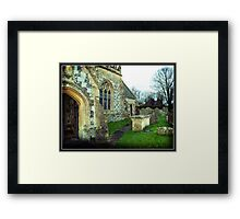 Avebury Church - 11th Century Framed Print