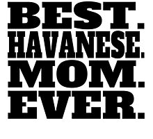Best Havanese Mom Ever by GiftIdea