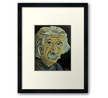Innovators - Einstein Framed Print