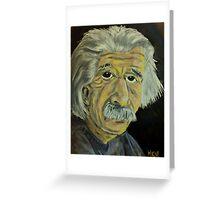 Innovators - Einstein Greeting Card
