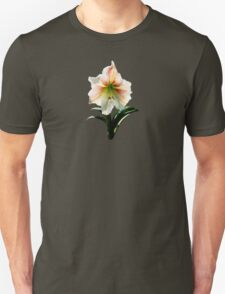 White Lily With Red Stripes T-Shirt