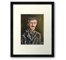Innovators - Nikola Tesla Framed Print