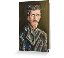 Innovators - Nikola Tesla Greeting Card