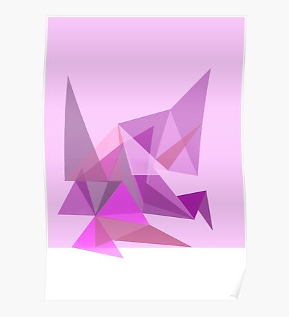 Triangle Animal Poster
