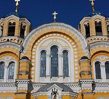 church in kiev by milena boeva
