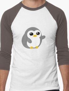 Pickle the Penguin Men's Baseball ¾ T-Shirt