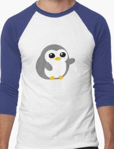 Pickle the Penguin Men's Baseball ¾ T-Shirt