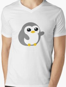 Pickle the Penguin Mens V-Neck T-Shirt