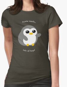 Pickle the Penguin Womens Fitted T-Shirt