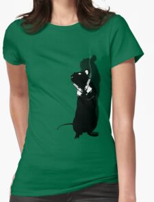 Cool Rat Womens Fitted T-Shirt