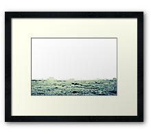 Looking into the heart of light, the silence Framed Print